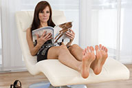 small preview pic number 3 from set 2454 showing Allyoucanfeet model Joyce