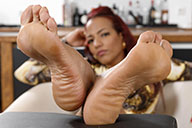 small preview pic number 4 from set 2463 showing Allyoucanfeet model Siley