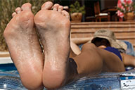 small preview pic number 6 from set 2467 showing Allyoucanfeet model Maxine