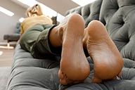 small preview pic number 2 from set 2477 showing Allyoucanfeet model Jolina