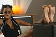 small preview pic number 5 from set 2494 showing Allyoucanfeet model Samy