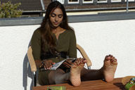 small preview pic number 1 from set 2500 showing Allyoucanfeet model Saysay