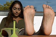small preview pic number 3 from set 2500 showing Allyoucanfeet model Saysay
