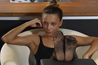 small preview pic number 1 from set 2504 showing Allyoucanfeet model Alina
