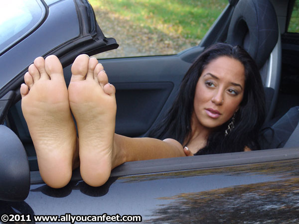 bigger preview pic from set 251 showing Allyoucanfeet model Vizzy