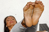 small preview pic number 6 from set 2512 showing Allyoucanfeet model Jenna - New Model