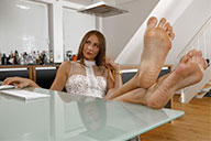 small preview pic number 5 from set 2528 showing Allyoucanfeet model Marissa - New Model