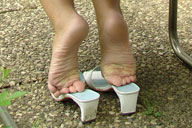 small preview pic number 6 from set 260 showing Allyoucanfeet model Marie