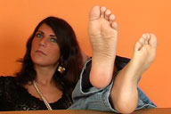 small preview pic number 2 from set 272 showing Allyoucanfeet model Mel