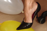 small preview pic number 1 from set 349 showing Allyoucanfeet model Karine