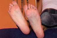 small preview pic number 2 from set 403 showing Allyoucanfeet model Chris