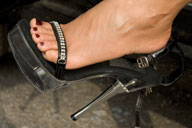small preview pic number 2 from set 407 showing Allyoucanfeet model Esperanza