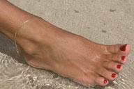 small preview pic number 5 from set 444 showing Allyoucanfeet model Mel