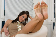 small preview pic number 2 from set 451 showing Allyoucanfeet model Sandy