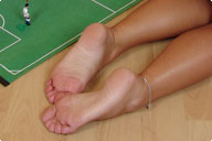 small preview pic number 3 from set 452 showing Allyoucanfeet model Tara