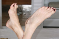 small preview pic number 5 from set 458 showing Allyoucanfeet model Chris