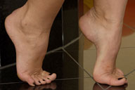 small preview pic number 1 from set 461 showing Allyoucanfeet model Sandy