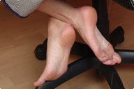 small preview pic number 3 from set 478 showing Allyoucanfeet model Caro