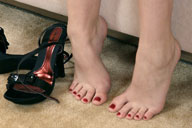 small preview pic number 6 from set 482 showing Allyoucanfeet model Silvi