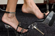 small preview pic number 1 from set 525 showing Allyoucanfeet model Joyce