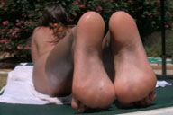 small preview pic number 4 from set 529 showing Allyoucanfeet model Sandy