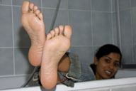 small preview pic number 2 from set 578 showing Allyoucanfeet model Surya