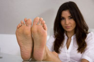 small preview pic number 3 from set 597 showing Allyoucanfeet model Shirin