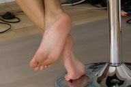 small preview pic number 4 from set 597 showing Allyoucanfeet model Shirin