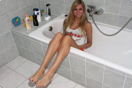 small preview pic number 1 from set 616 showing Allyoucanfeet model Joyce