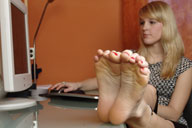 small preview pic number 4 from set 631 showing Allyoucanfeet model Venetia