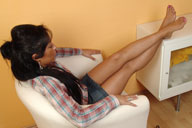 small preview pic number 5 from set 634 showing Allyoucanfeet model Vizzy