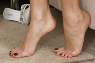 small preview pic number 6 from set 636 showing Allyoucanfeet model Shirin