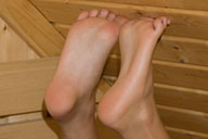 small preview pic number 2 from set 640 showing Allyoucanfeet model Christiane