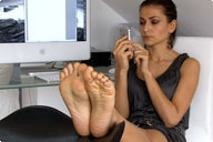 small preview pic number 5 from set 644 showing Allyoucanfeet model Escada