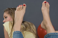 small preview pic number 5 from set 656 showing Allyoucanfeet model Sarah