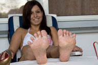 small preview pic number 5 from set 658 showing Allyoucanfeet model Steffi