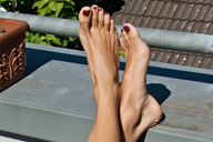 small preview pic number 4 from set 702 showing Allyoucanfeet model Flora