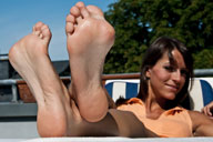 small preview pic number 5 from set 702 showing Allyoucanfeet model Flora