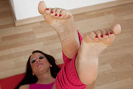 small preview pic number 4 from set 712 showing Allyoucanfeet model Sandy