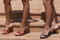 small preview pic number 1 from set 714 showing Allyoucanfeet model Mel