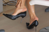 small preview pic number 1 from set 716 showing Allyoucanfeet model Madeleine
