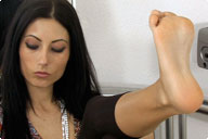 small preview pic number 3 from set 735 showing Allyoucanfeet model Dorinka