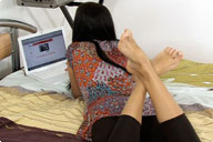 small preview pic number 5 from set 735 showing Allyoucanfeet model Dorinka