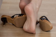 small preview pic number 3 from set 773 showing Allyoucanfeet model Madeleine