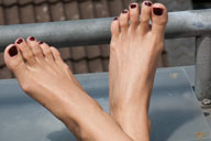 small preview pic number 4 from set 775 showing Allyoucanfeet model Ina