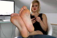small preview pic number 6 from set 783 showing Allyoucanfeet model Karine