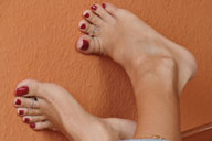 small preview pic number 2 from set 794 showing Allyoucanfeet model Mel