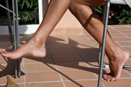 small preview pic number 3 from set 795 showing Allyoucanfeet model Mel