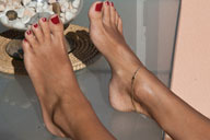 small preview pic number 6 from set 795 showing Allyoucanfeet model Mel