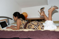 small preview pic number 1 from set 800 showing Allyoucanfeet model Surya